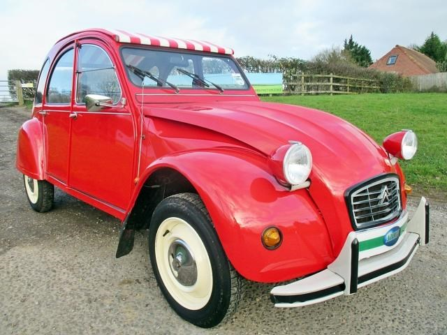 Citroen 2 CV Special 4dr New Galvanised Chassis