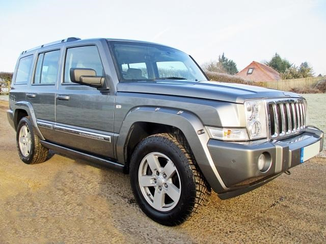 Jeep Commander COMMANDER LIMITED CRD A 7 Seat Model