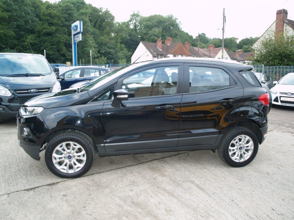 used panther black ford ecosport for sale gloucestershire. Black Bedroom Furniture Sets. Home Design Ideas