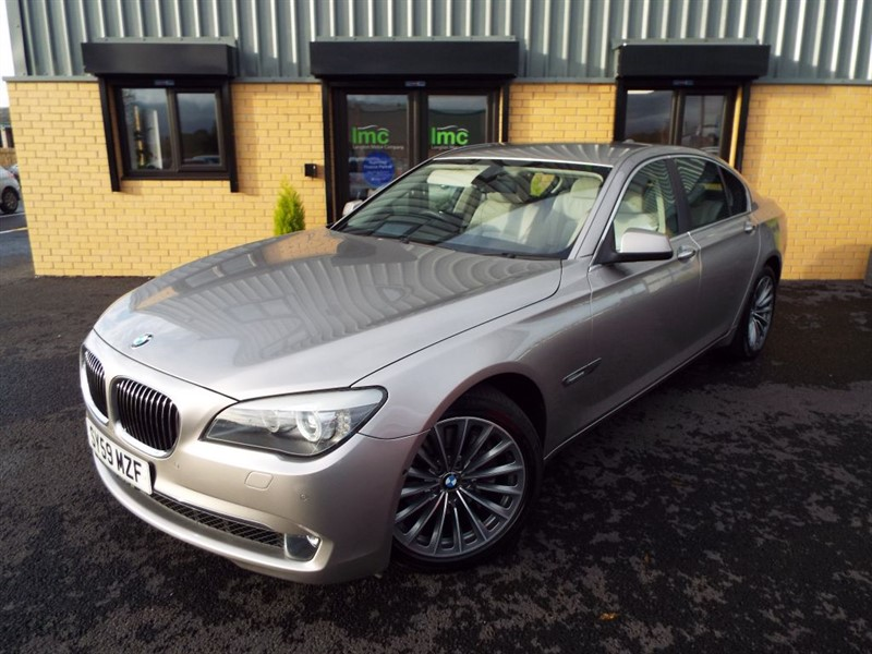 used BMW 730d 3.0d SE With Ivory Leather, 19inch Alloy Wheels and 360 Vision Camera