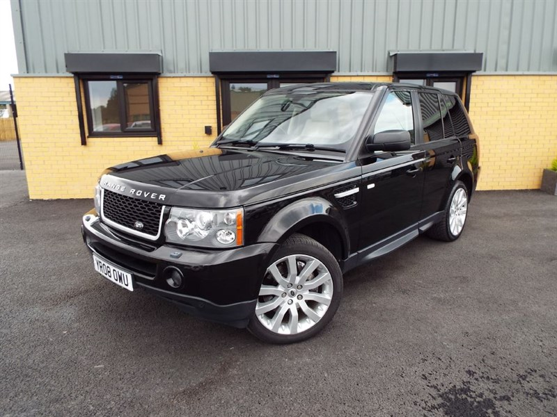 used Land Rover Range Rover Sport 2.7 TDV6 Sport HSE With Ivory Leather HUGE SPEC
