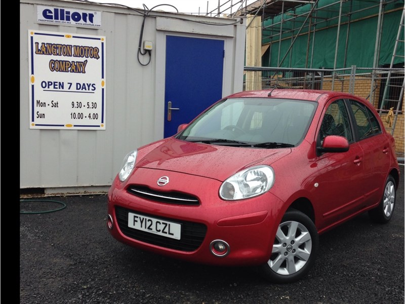 used Nissan Micra Acenta 5dr FULL NISSAN SERVICE HISTORY