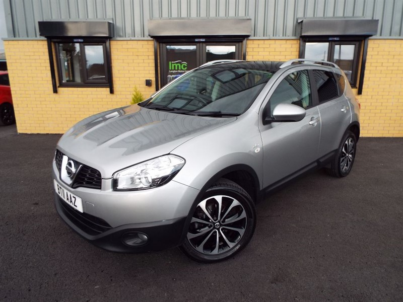 used Nissan Qashqai 1.5 DCI N-TEC With Sat Nav+Panoramic Roof