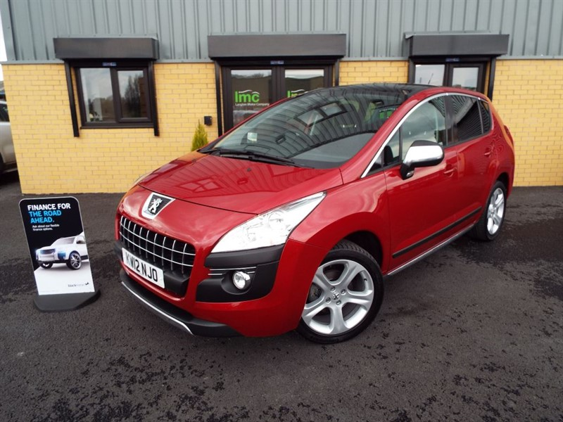 used Peugeot 3008 1.6 HDi FAP Allure With Panoramic Roof