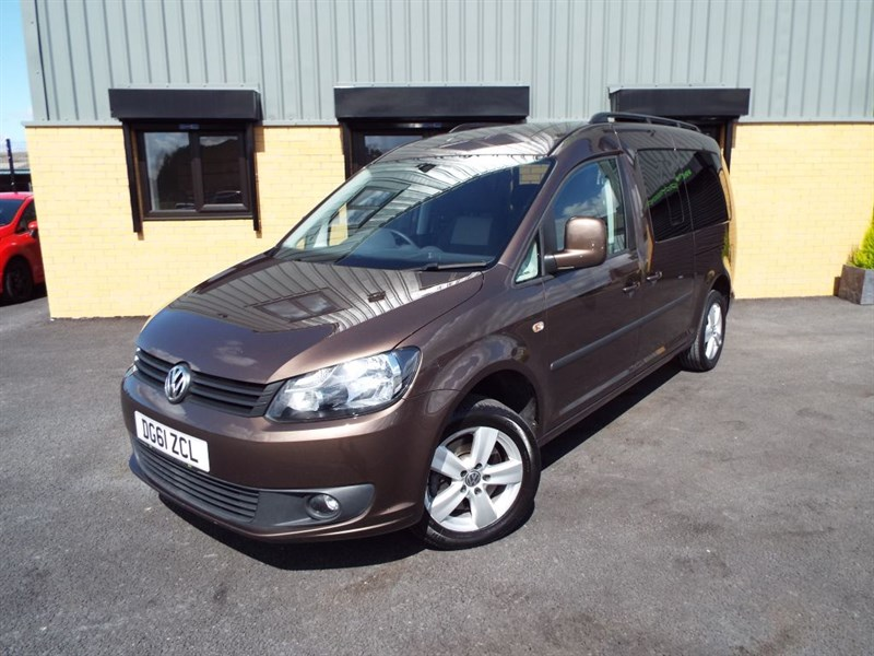 used VW Caddy 1.6 TDI Maxi C20 Life Blue Motion Technology