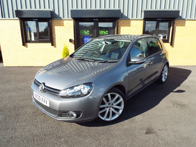 used VW Golf 2.0 GT TDI 5dr With 18inch Vancouver Alloy Wheels