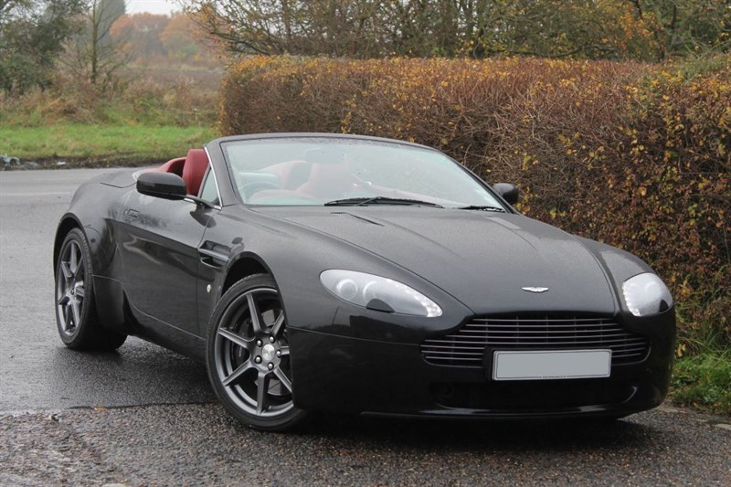 used Aston Martin Vantage volante