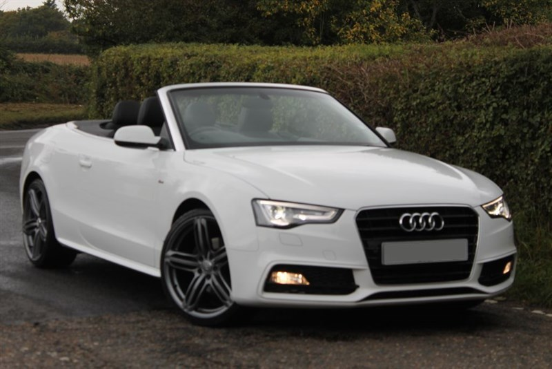 used Audi A5 convertible s line