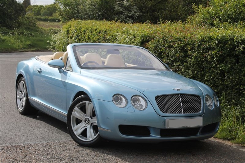 used Bentley Continental GTC 6.0 w12 mulliner