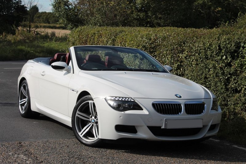 used BMW M6 conertible smg