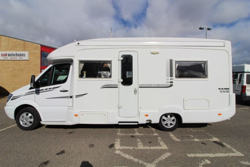used Autosleeper  Gloucester 4 Berth Motorhome in perth-scotland