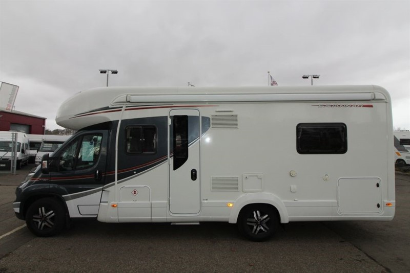 used Autotrail  Savannah 4 berth motorhome in perth-scotland