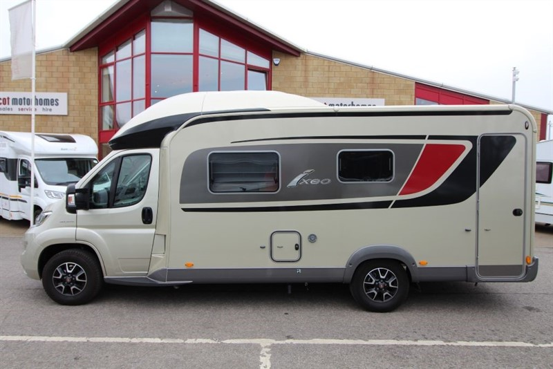 used Burstner  Ixeo 680G Motorhome in perth-scotland