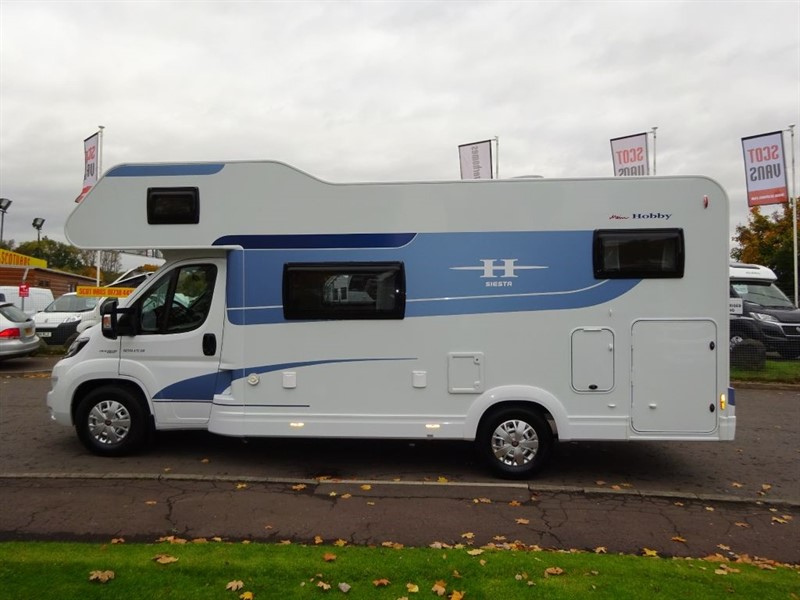 used Fiat Ducato Hobby Siesta A70GM Motorhome in perth-scotland