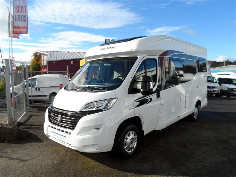 used Fiat Ducato Hobby V60 GF Motorhome in perth-scotland