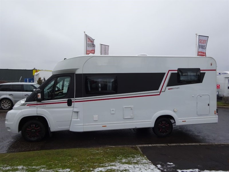 used Fiat Ducato Hobby Siesta T65ge (T EDITION) motorhome in perth-scotland