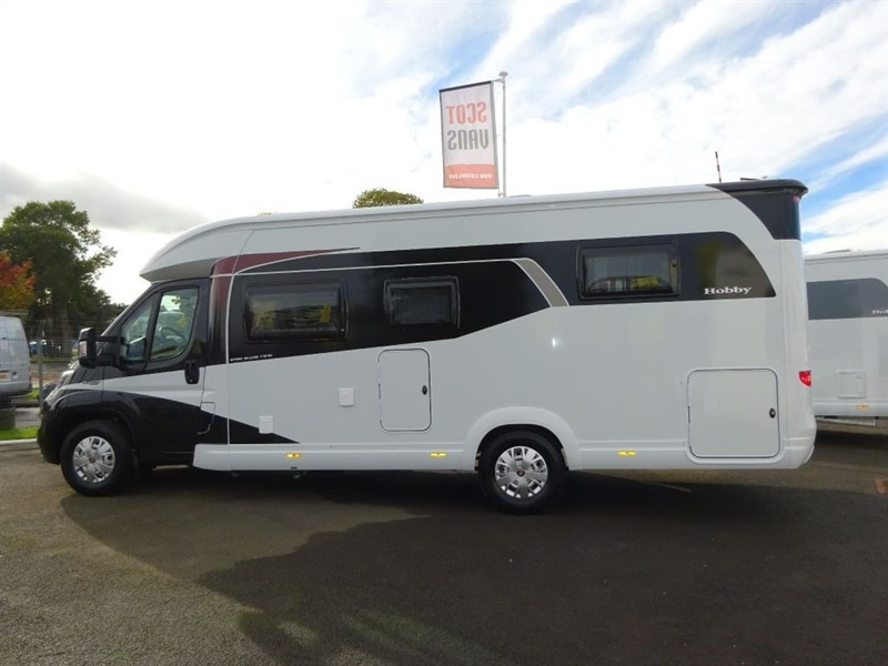 used Fiat Ducato Hobby T70HQ Optima Deluxe Motorhome in perth-scotland