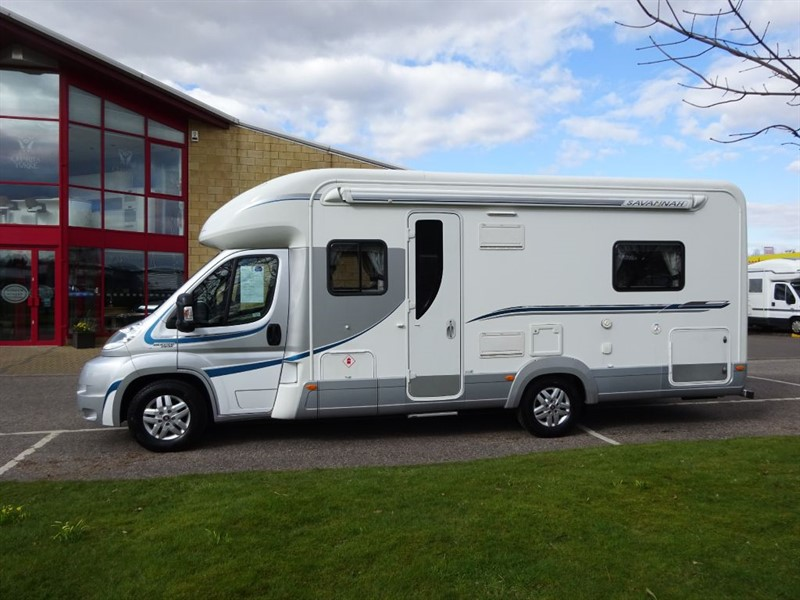 used Fiat Ducato AUTO TRAIL FRONTIER 4 Berth SAVANNAH MOTORHOME in perth-scotland