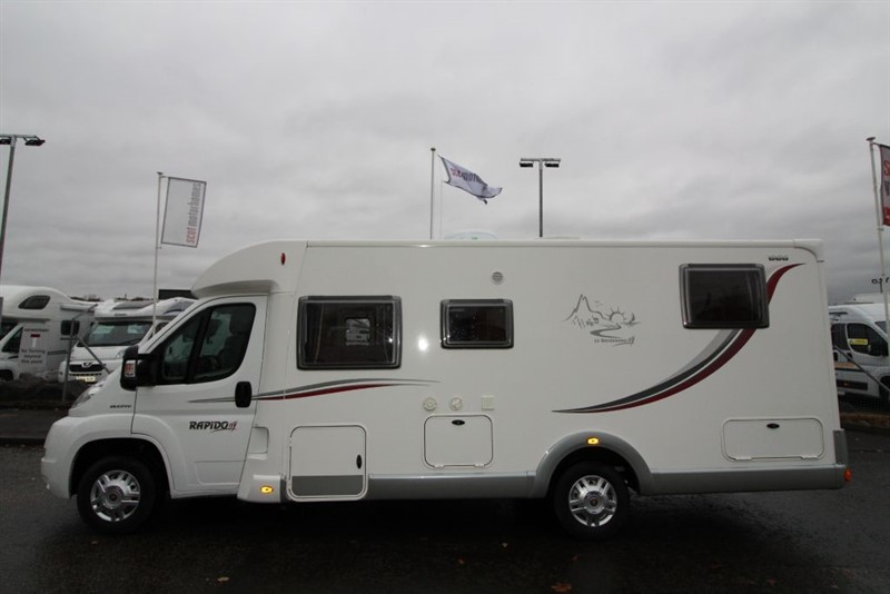 used Rapido   666 motorhome in perth-scotland