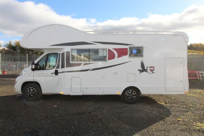 used Rimor  Super Brig 689TC in perth-scotland