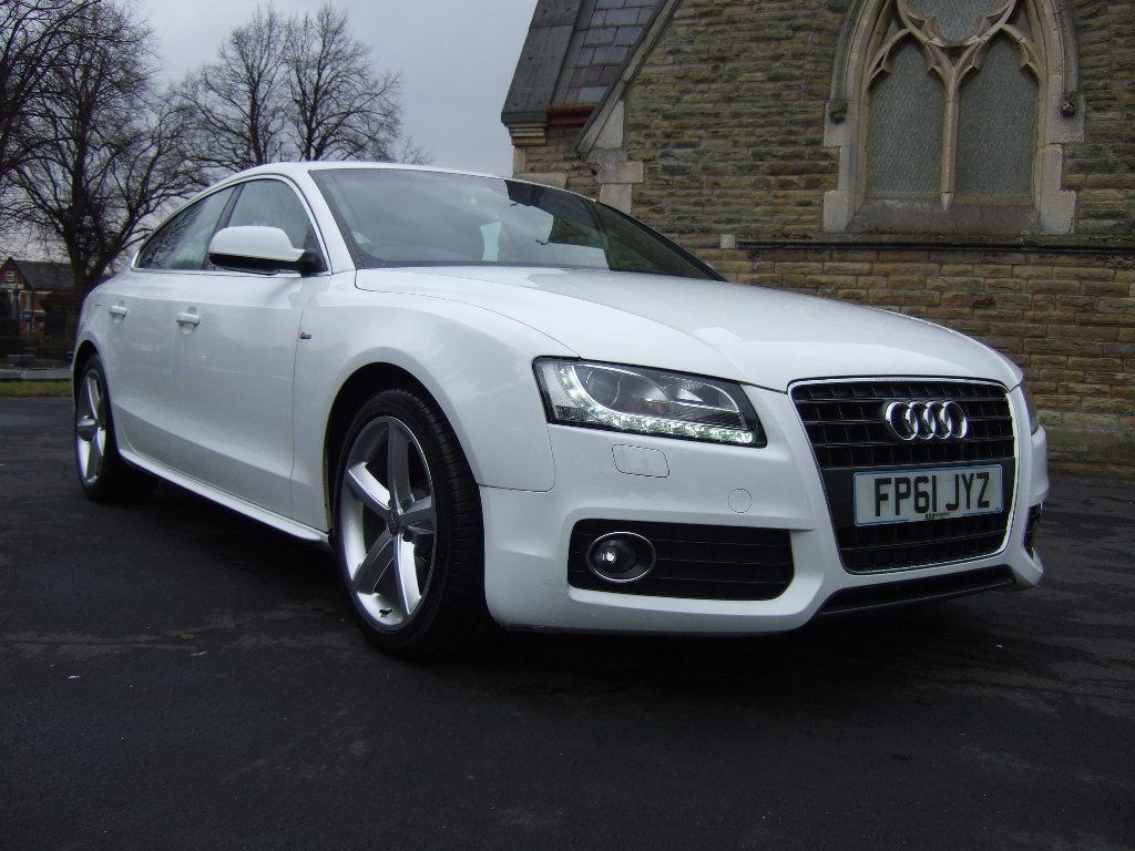 used ibis white audi a5 for sale cheshire. Black Bedroom Furniture Sets. Home Design Ideas