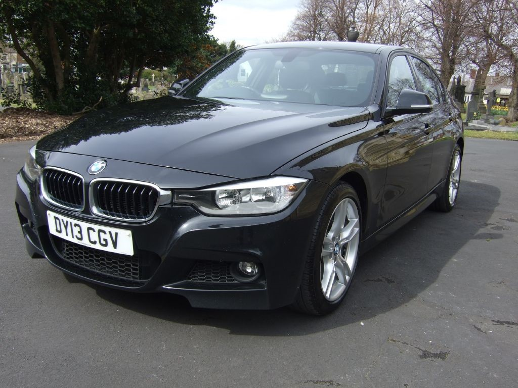 Used Sapphire Black Bmw 320d For Sale Cheshire