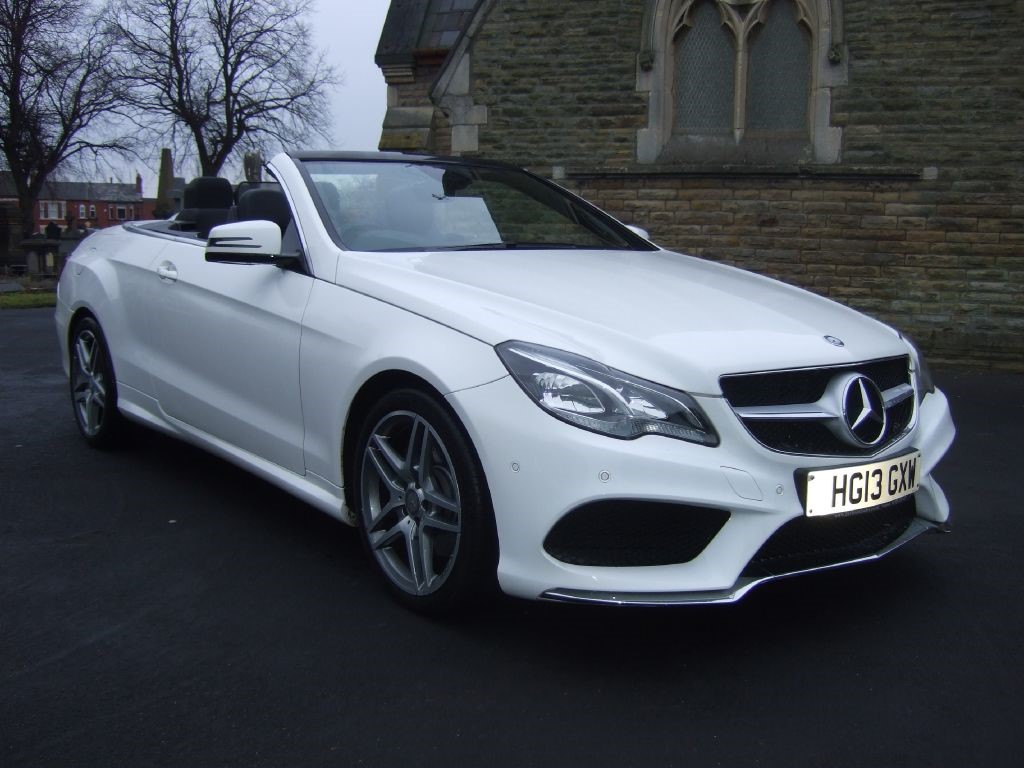 used polar white mercedes e220 for sale cheshire. Black Bedroom Furniture Sets. Home Design Ideas