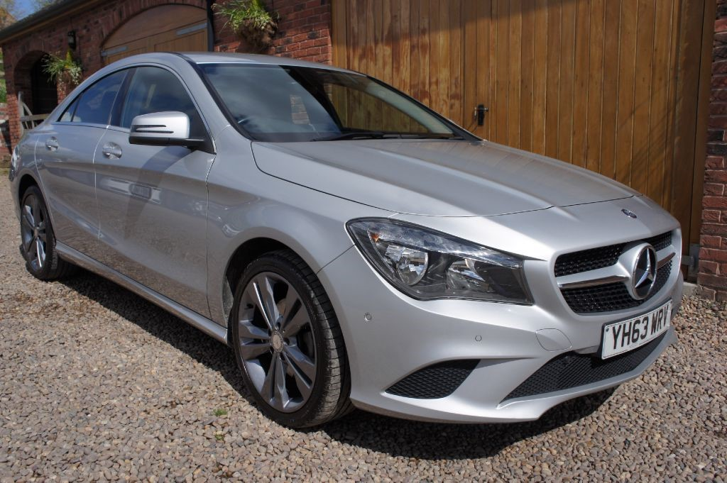 used polar silver mercedes cla 220 cdi for sale west. Black Bedroom Furniture Sets. Home Design Ideas