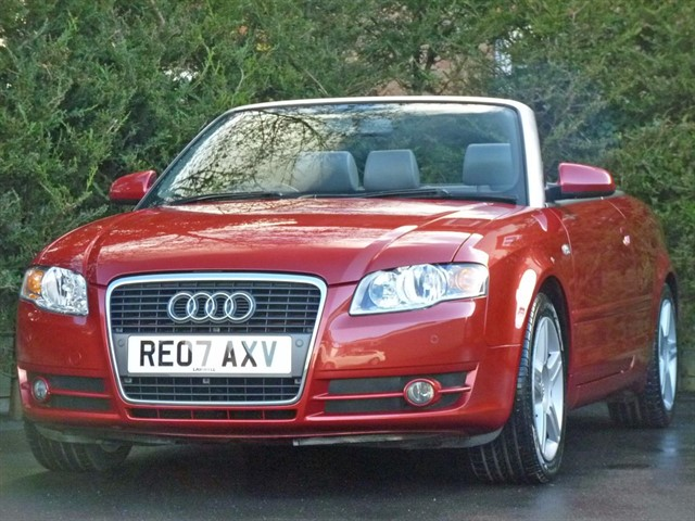 used Audi A4 1.8 T SPORT Convertible in dorset