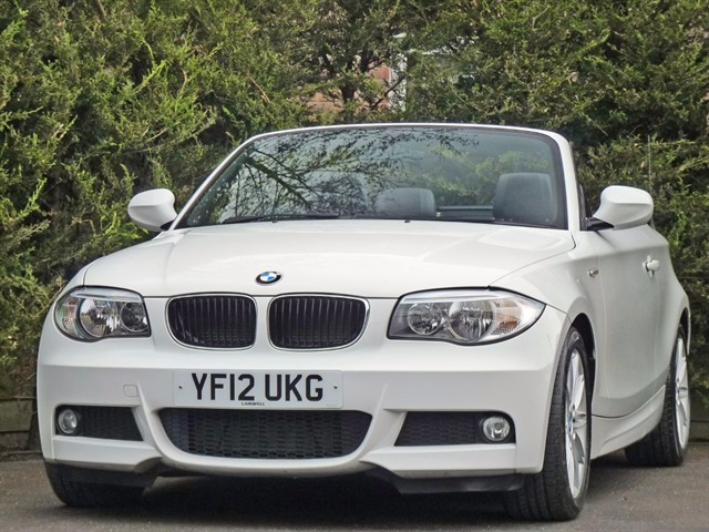used BMW 120d 2.0 M SPORT CONVERTIBLE in dorset