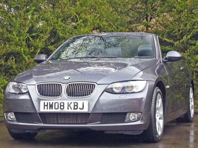 used BMW 330d SE AUTOMATIC COUPE CONVERTIBLE in dorset