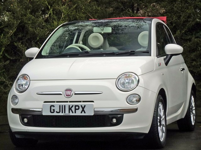 used Fiat 500C LOUNGE AUTOMATIC CONVERTIBLE in dorset