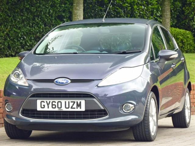 used Ford Fiesta ZETEC in dorset
