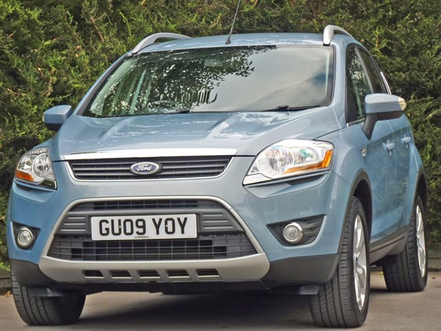 used Ford Kuga 2.0 TDCi ZETEC AWD in dorset
