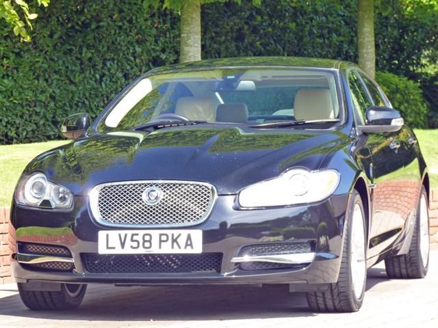 used Jaguar XF PREMIUM LUXURY 2.7 V6 TURBO DIESEL in dorset