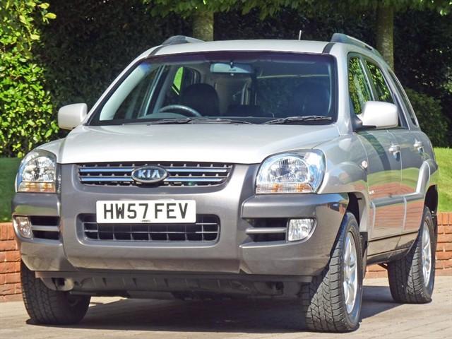 used Kia Sportage 2.0 XI 4WD in dorset