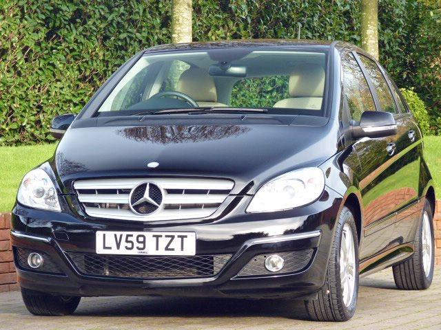 used Mercedes B160 SE in dorset