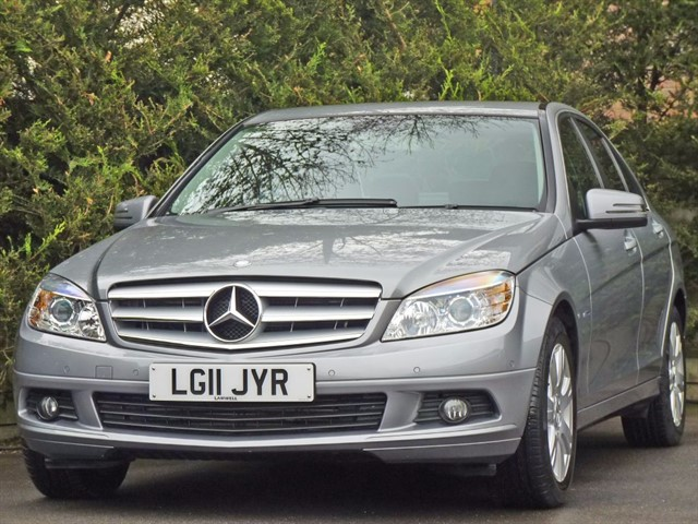 used Mercedes C180 CGI BLUEEFFICIENCY EXECUTIVE SE AUTOMATIC in dorset