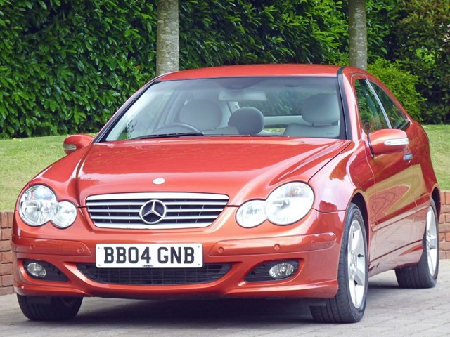 used Mercedes C200 KOMPRESSOR SE SPORTS in dorset