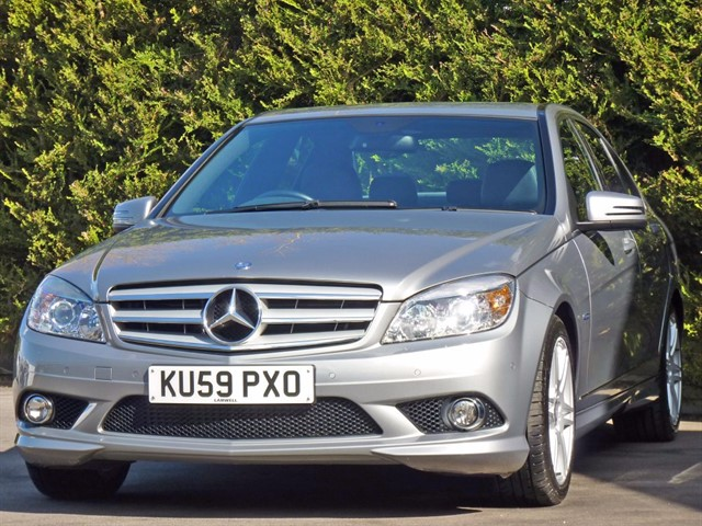 used Mercedes C250 2.1 CDI BLUEEFFICIENCY SPORT AUTOMATIC in dorset
