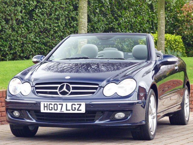 used Mercedes CLK280 Avantgarde  in dorset