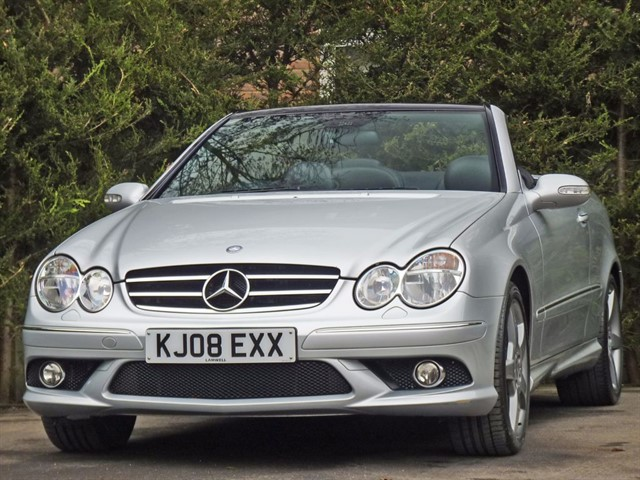 used Mercedes CLK280 3.0 V6 SPORT AUTOMATIC CONVERTIBLE in dorset