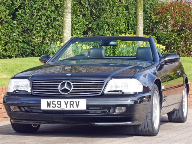used Mercedes SL320 Auto in dorset