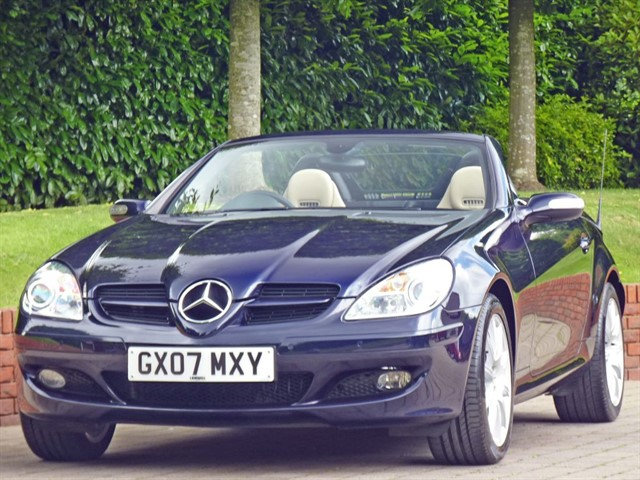 used Mercedes SLK 280 3.0 V6 Sports Roadster in dorset