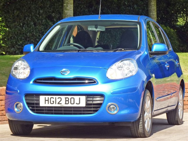 used Nissan Micra 1.4 ACENTA AUTOMATIC in dorset