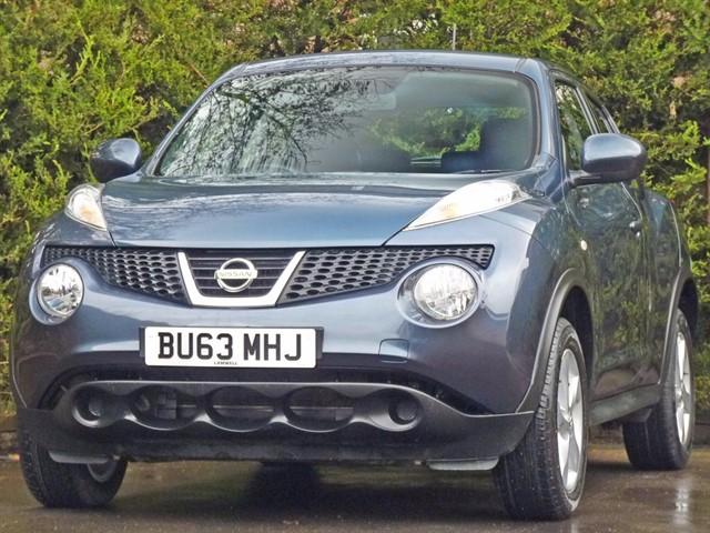 used Nissan Juke 1.6 VISIA in dorset