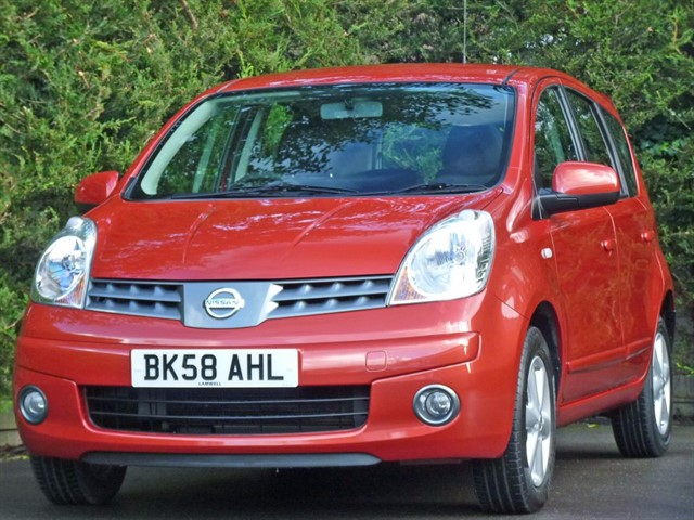 used Nissan Note 1.4 ACENTA in dorset
