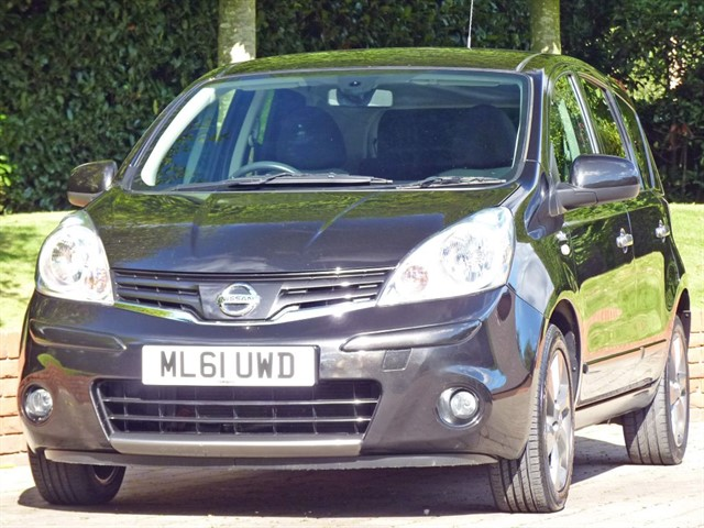 used Nissan Note 1.6 N-TEC Automatic in dorset