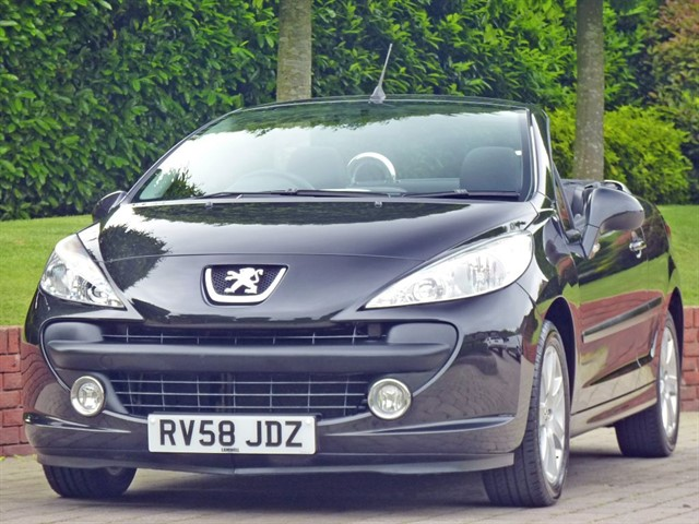 used Peugeot 207 CC SPORT COUPE CABRIOLET in dorset