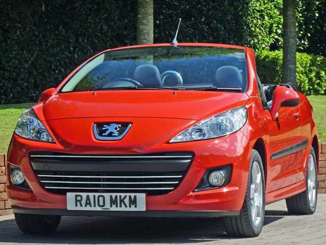 used Peugeot 207 CC SPORT  Convertible in dorset